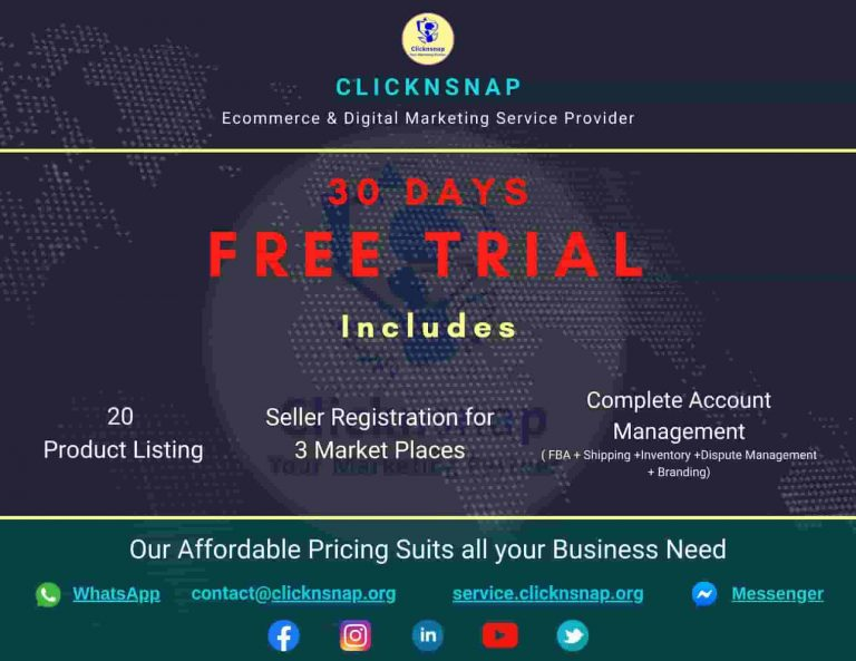 Ecommerce Free Trial Offer